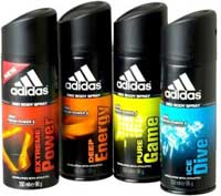 Adidas Assorted Flavours Deodorant Spray for Men