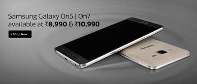 Samsung Galaxy On5 On7 Available