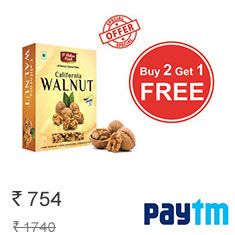 Dnature Fresh California Walnut Combo at 33% Off + Extra Cashback Buy Now