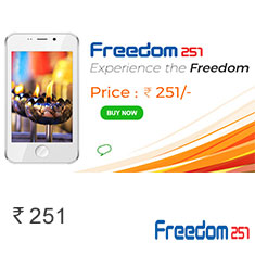 Freedom 251 Newly Launched Smartphone at Super Affordable Price Buy Now