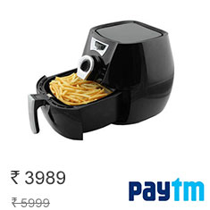HomePro GLA601 2.2L Air Fryer (Black) at 34% Off + Cashback Buy Now Affordable Price Buy Now