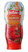 Kissan Squeezo No Onion No Garlic Tomato Sauce 450 g at 7% Off