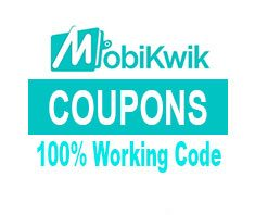 Mobikwik Coupons, Deals, Cashback Offers