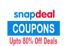 Snapdeal Coupons, Deals, Discount and Amazing Discount Offers