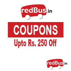 redbus coupons, offers, deals, discount and bus booking amazing offers