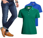 Combo Of Firk Mens Jeans & 2 Solid T-Shirts at Flat 47% Off + 10% Cashback