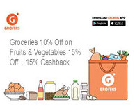 Groceries Offer From Grofers