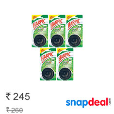 Harpic Flushmatic Mono Pine 50 gm Pack Of 5 at 6% Off + Cashback Buy Now