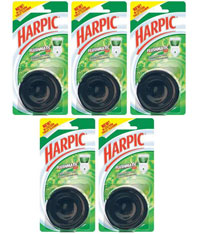 Harpic Flushmatic Mono Pine 50 gm Pack Of 5 at 6% Off + Cashback
