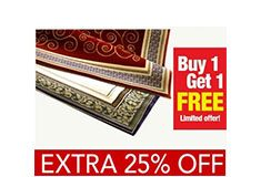 HomeZaara Traditional Carpets Offer Buy 1 Get 1