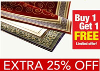 HomeZaara Traditional Carpets Offer
