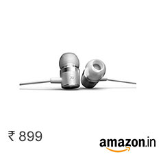 OnePlus Silver Bullet Earphones at Rs. 899 + Free Delivery Buy Now