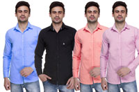 Paris polo combo of 4 shirts offer