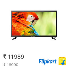 Polaroid 81cm (32) HD Ready LED TV at 29% Off + 4 Extra Offers Buy Now