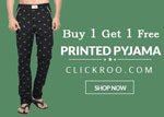 Printed Pyjamas Buy One & Get One Absolutely Free