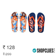 Buy Men & Women Flip Flops Footwear at 80%