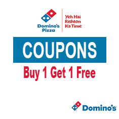 Dominos Coupons and Offers