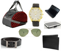 Fidato Mens Accessories Combo Of 6