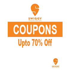 Swiggy Coupons and Offers