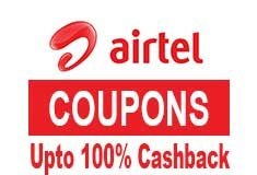 Airtel Coupons and Offers