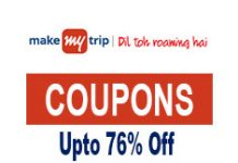 MakeMyTrip Coupons & Offers