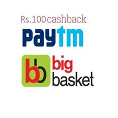 BigBasket Cashback Offer