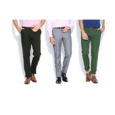 Wills Lifestyle Men's Trousers Offer