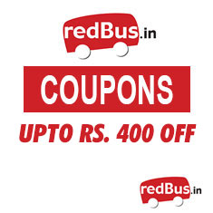 RedBus Coupons & Offers