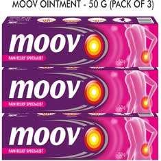 Moov Ointment Pack of 3 Combo Offer with 15% Discount