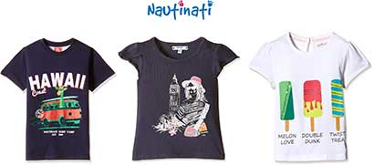 Nauti Nati Kids Clothing Starting Rs. 129