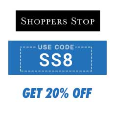 Get 20% OFF on Purchase of Rs. 2000 and Above at Shoppers Stop
