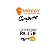 Swiggy Coupons & Promo Codes