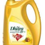 Dhara Rice Bran Oil Jar