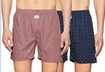 Longies Mens Printed Boxers
