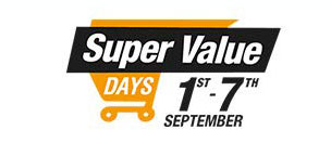 Super Value Days Offer