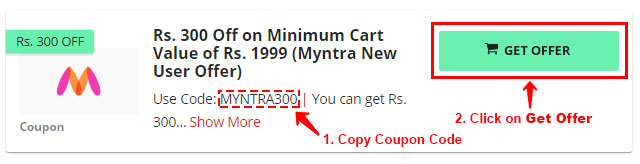 How to Use Coupons on Myntra