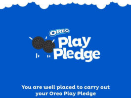 Oreo Play Pledge