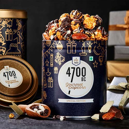 4700BC Gourmet Popcorn Chocolate Tin