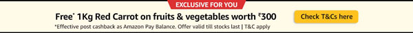 FREE 1Kg Red Carrot