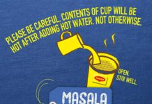 Maggi Nestle Cuppa Masala Noodles 70g Cup