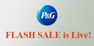 P&G Flash Sale
